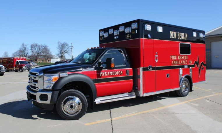 New Berlin Fire Department Life Line Emergency Vehicles